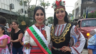 Se celebró la Sexta Expo Feria Colectividades en Sáenz Peña
