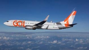 La aerolínea Gol sumará en febrero una nueva frecuencia semanal directa Buenos Aires-Recife