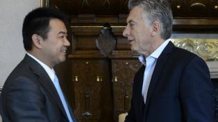 El CEO de Huawei brindó a Macri detalles de las inversiones en la Argentina