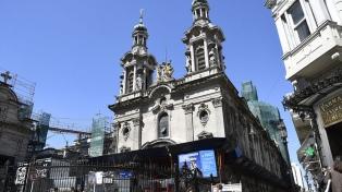 Restauran la Basílica más antigua del casco histórico porteño