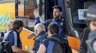 """Argentina está en el estadio y espera por la """"final"""" con Ecuador"""
