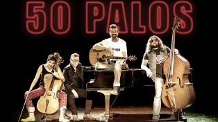 """Jarabe de Palo presenta en la Argentina """"50 Palos"""""""