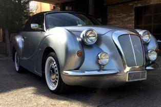 Un auto vintage, artesanal y hecho según los gustos del cliente