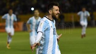 Por Messi, Argentina clasificó a Rusia 2018