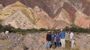 Hallan en la Quebrada de Humahuaca huellas de dinosaurios del cretácico