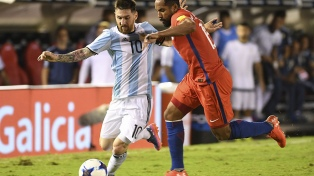 La previa del duelo entre Argentina y Chile