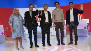 """""""Todos contra todos"""", fue la consigna del debate entre candidatos porteños"""