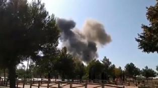 Un avión militar se estrelló después de participar del desfile militar por el 12 de octubre