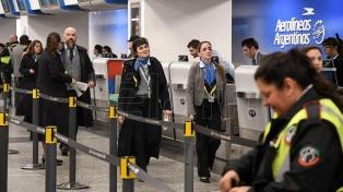 Se van normalizando los vuelos de Aerolíneas y Austral