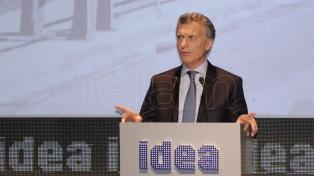 Macri, Frigerio, Dujovne y Vidal estarán en el coloquio de IDEA