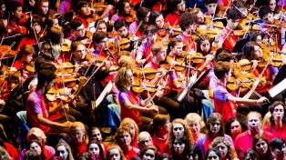 Las orquestas juveniles del mundo vuelven a encontrarse en Buenos Aires