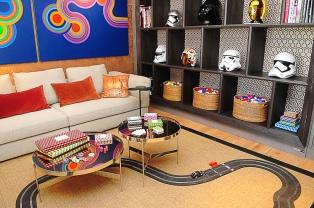 Cuando la vida es juego: un cuarto ecléctico, con toques de humor y vedado a la tecnología