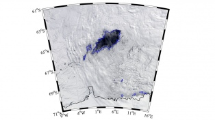 Descubren en la Antártida un agujero del tamaño de Panamá