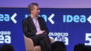 El presidente Macri cierra en Neuquén el pre-coloquio de IDEA