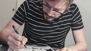 Un ilustrador argentino participa en el Festival Comic Con de la India