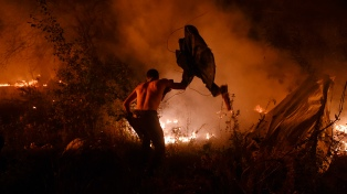 Ascienden a 45 las víctimas mortales de los incendios forestales