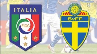 Italia enfrentará a Suecia en el repechaje para Rusia 2018