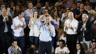 """Macri: """"Son mayoría los que le dicen basta a las mafias, la corrupción y la extorsión"""""""