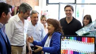 Peña defendió el reclamo de Vidal por el Fondo del Conurbano