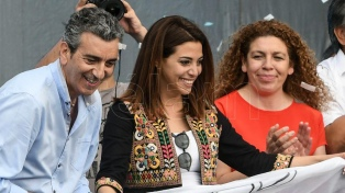 """Randazzo celebró el �Día de la Lealtad� en La Matanza y volvió a pedirle """"autocrítica"""" a Cristina Kirchner"""