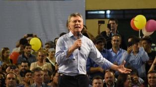 """Macri: �Vayan a las urnas a decir que éste es el cambio que todos quieren"""""""