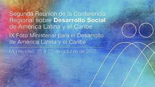 Uruguay recibe a la segunda reunión de la CEPAL sobre Desarrollo Social de América Latina y el Caribe