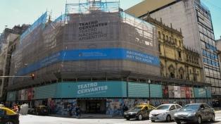 El Teatro Nacional Cervantes volverá a lucir como en 1921
