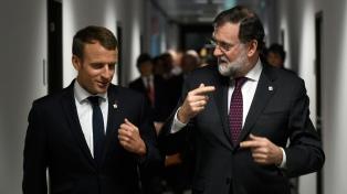 Rajoy recibe el apoyo de los líderes europeos a días de una posible intervención de Cataluña