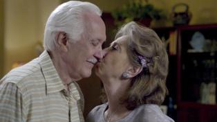 La actriz y esposa de Luppi lo despidió con una simbólica foto