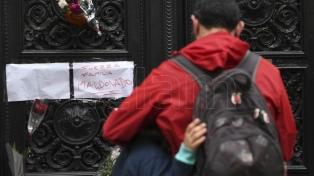 Muestras de dolor y marcha por Santiago Maldonado