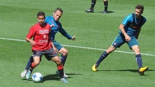 San Lorenzo jugó un amistoso, en el que Biaggio afianzó su idea