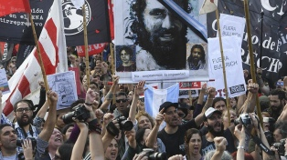 Organismos de DDHH pidieron justicia por Maldonado y dijeron que el Gobierno es responsable