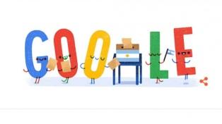 Google le dedica su doodle a los comicios legislativos