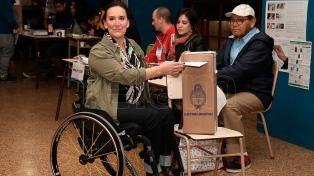 """Michetti destacó que la jornada electoral """"se está desarrollando bien"""""""