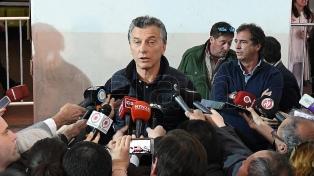 Macri brindará una conferencia de prensa en la Casa de Gobierno