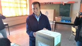 """""""Hoy es un día de la democracia"""", dijo el Gobernador Gutiérrez"""