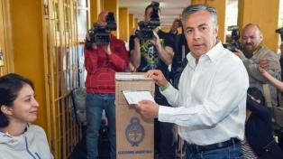 En Mendoza ya votaron los principales candidatos