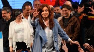 """Cristina Kirchner: """"No nos alcanza para superar a nuestros adversarios"""""""