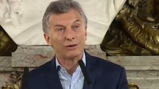 """Macri: """"Es imposible que este gobierno haga desaparecer a nadie"""""""