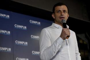 Bucca, el candidato de Lavagna en la Provincia, busca lugar en el debate entre Vidal y Kicillof