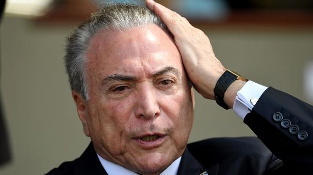 Tras cirugía, dan de alta al presidente de Brasil