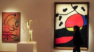 Joan Miró en el Bellas Artes: exhiben 50 obras de las últimas dos décadas de su vida