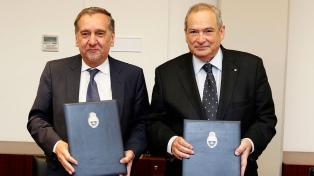 Lemus y Barañao buscan incentivar las investigaciones científicas en salud pública