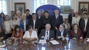 """El FPV-PJ no bajó al recinto para """"no convalidar un plan de persecución a opositores"""""""