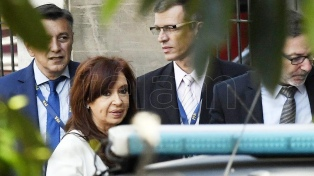 Cristina Kirchner viajó para acompañar a su hija bajo tratamiento médico