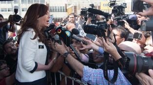"""""""Traición a la Patria es usar el poder judicial para hacer callar a la oposición"""", dijo Cristina Kirchner"""