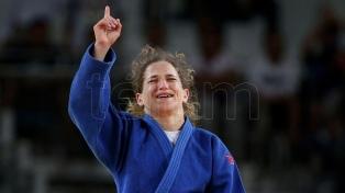 La argentina Pareto despidió su año con una medalla de bronce en el Grand Slam de Abu Dhabi
