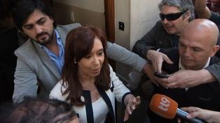 Cristina Kirchner suspendió la gira europea por la sesión de jura en el Senado
