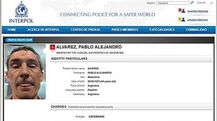 """""""Bebote"""" Alvarez es buscado por Interpol en la causa por extorsión al DT Ariel Holan"""