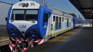 El ferrocarril San Martín prestará servicio limitado este fin de semana por obras